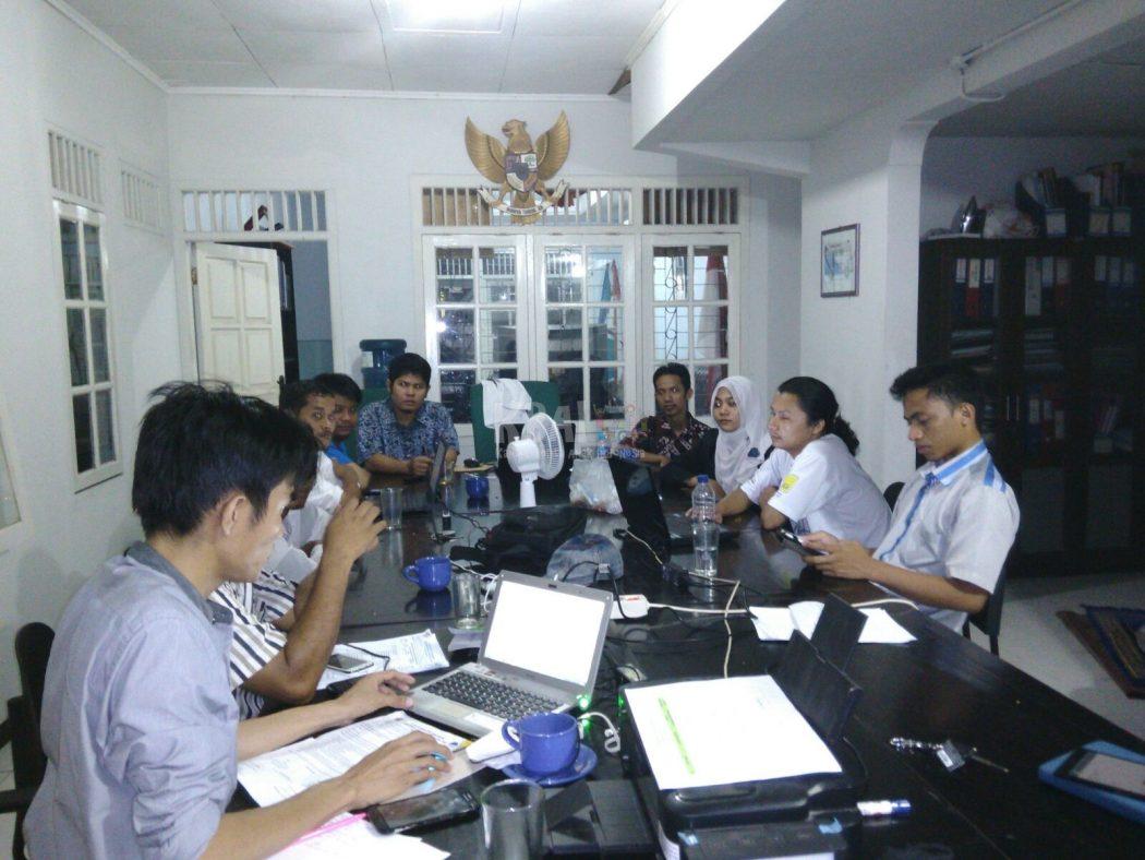 Suasana Rapat Teknis Rakernas Perdana Panti di Lombok