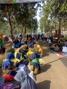 Lomba Hasta Karya anak anak Panti Muhamaadiyah dan Panti Aisyiyah di Bumi Perkemahan Pakisadhi Jepara Jawa Tengah
