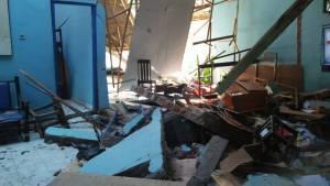 Panti Al Kautsar yang rusak berat di Jalan Pue Bongo Nomor 9 Kota Palu