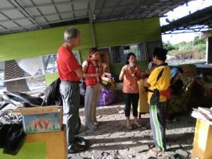 Fumedica - Medical Teams Humanitarian AId Internastional mengunjungi Panti Wali Songo yang rusak berat